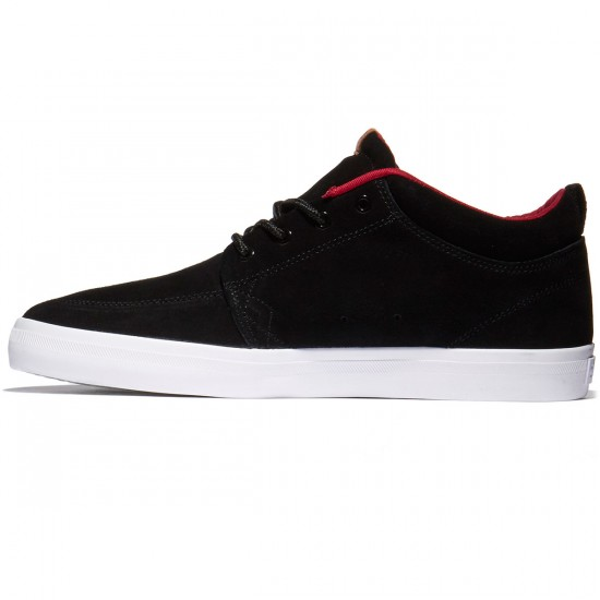 Globe GS Chukka Shoes - Black/Red - 10.0