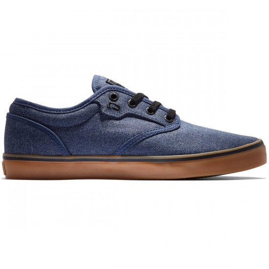 Globe Motley Shoes - Navy Chambray/Gum - 8.0