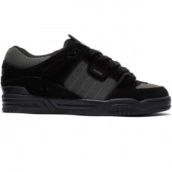Globe Fusion Shoes - Black/Gunmetal - 8.0