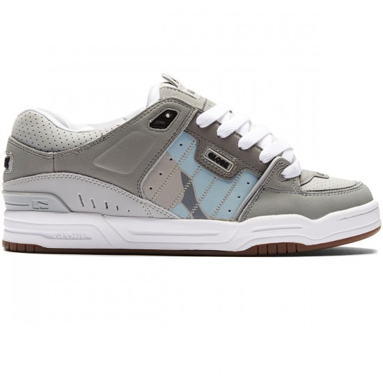 Globe Fusion Shoes - Grey/Grey/Camo - 8.0