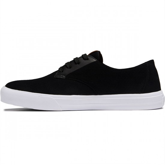 Globe Motley LYT Shoes - Perf Black/White - 8.0
