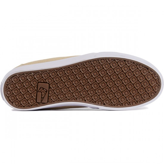 Globe Mahalo Shoes - Sand/White - 8.0