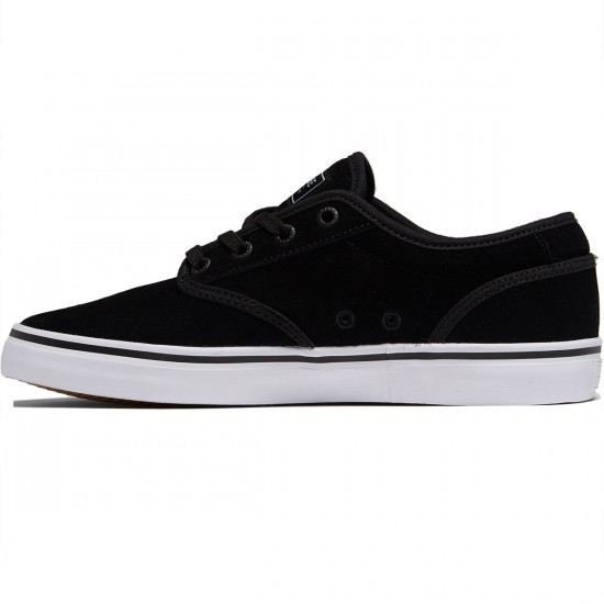 Globe Motley Shoes - Black Suede - 8.0