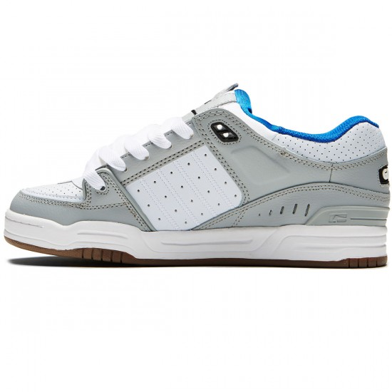 Globe Fusion Shoes - Grey/Blue/White - 8.0