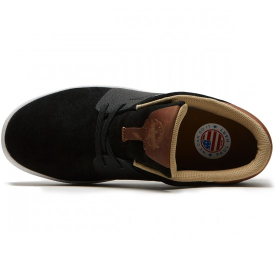 Globe Mahalo SG Shoes - Black/Brown/Hart - 8.5