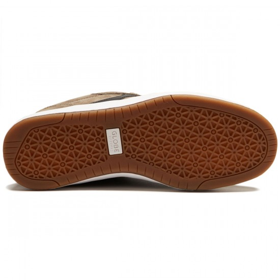 Globe Octave Shoes - Walnut/White - 8.5