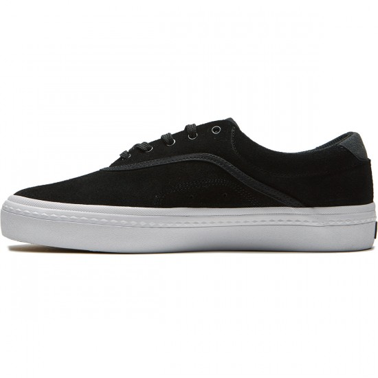 Globe Sprout Shoes - Black/White - 8.5