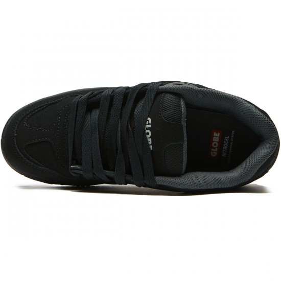 Globe Fury Shoes - Black/Black - 8.5