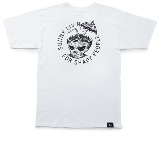 JSLV Cocktail Select T-Shirt - White