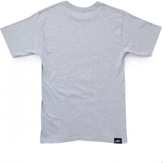 JSLV Hoops Select T-Shirt - Athletic Heather