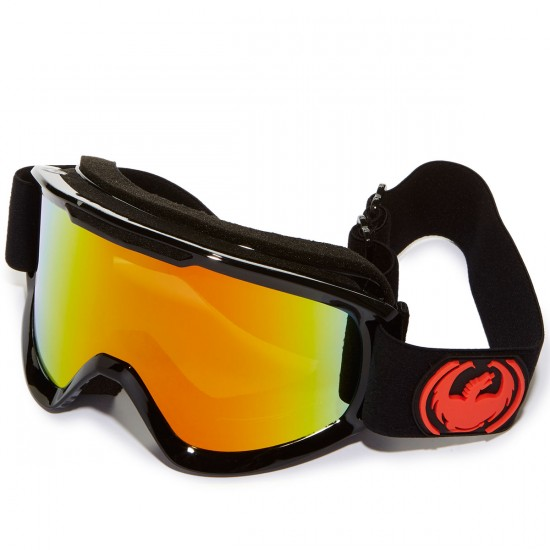 Dragon DX2 Snowboard Goggles - Jet/Red Ion