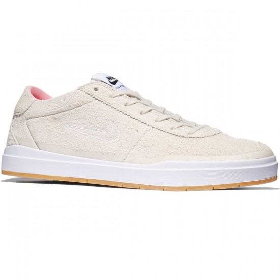 Nike SB X Quartersnacks Bruin Hyperfeel QS Shoes - Birch/White/Space Pink/Black - 8.0