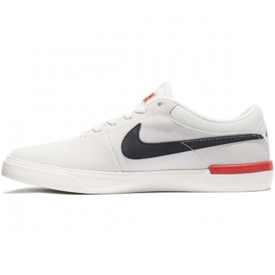 Nike SB Koston Hypervulc Shoes - Ivory/Black Ember Glow - 7.0