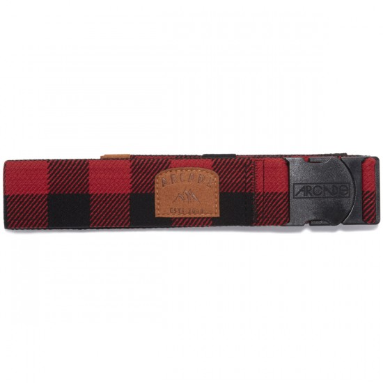 Arcade The Atwood Belt - Black/Red