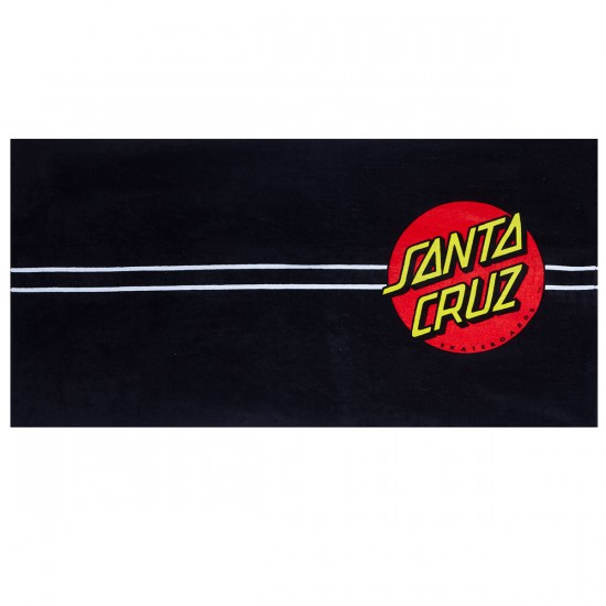 Santa Cruz Classic Dot Towel - Black