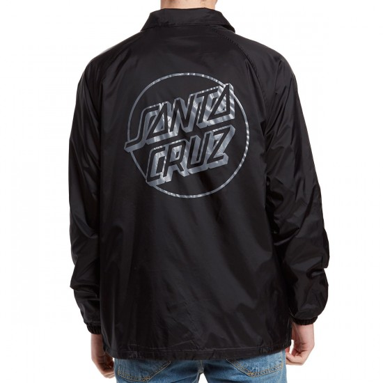 Santa Cruz Opus Dot Coach Jacket - Black
