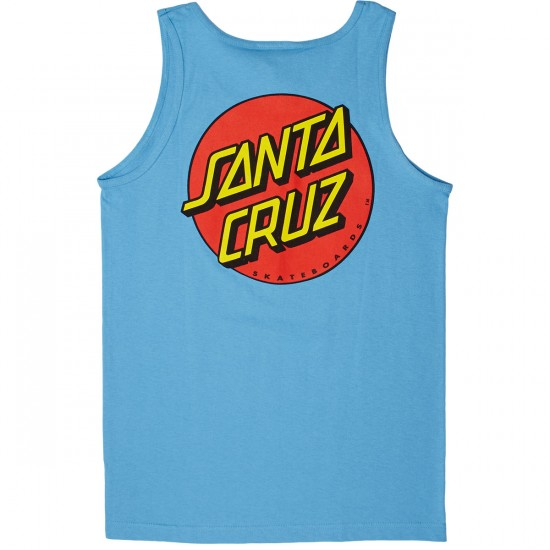 Santa Cruz Classic Dot T-Shirt - Carolina Blue