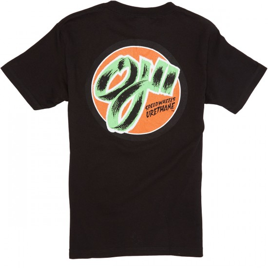 OJ2 Speedwheels Pocket T-Shirt - Black