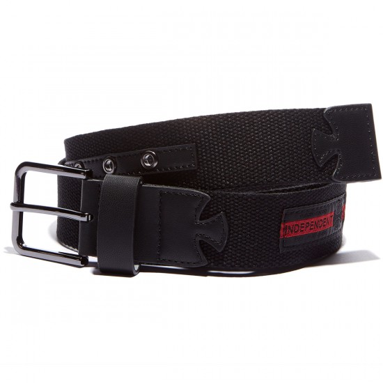 Independent Mature Web Belt - Black