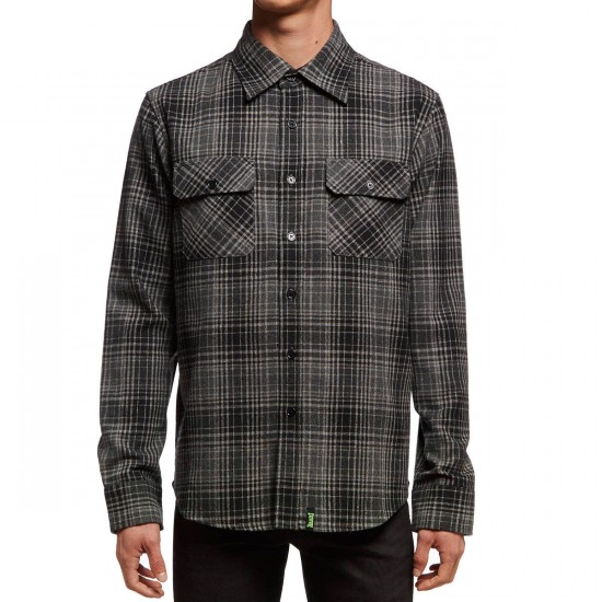 Creature Infantry Shirt - Grey/Black Plaid