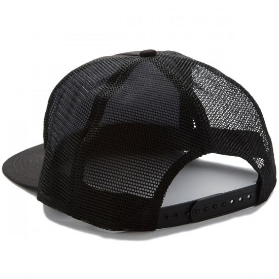 Santa Cruz Other Dot Striped Trucker Hat - Black