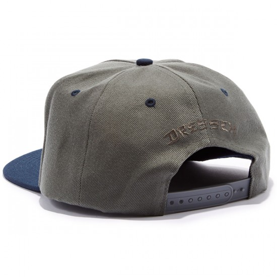 Independent Dressen Dagger Snapback Hat - Grey/Navy