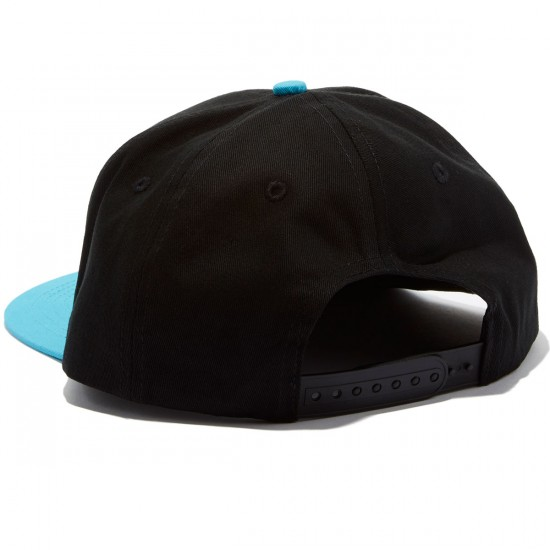 Santa Cruz Mace Dot Snapback Hat - Black/Navy