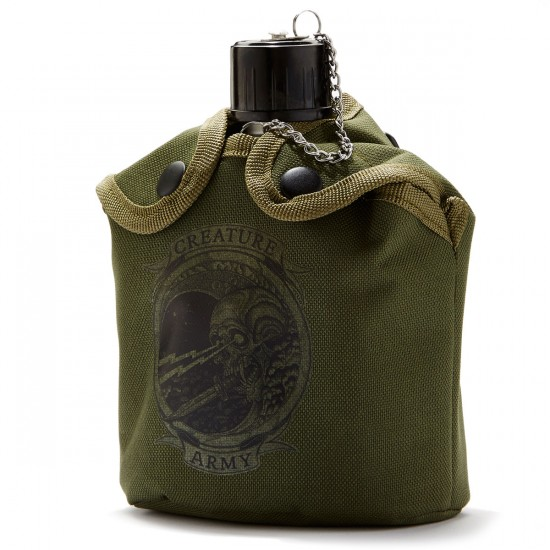 Creature Sneaky Pete Canteen - Military Green