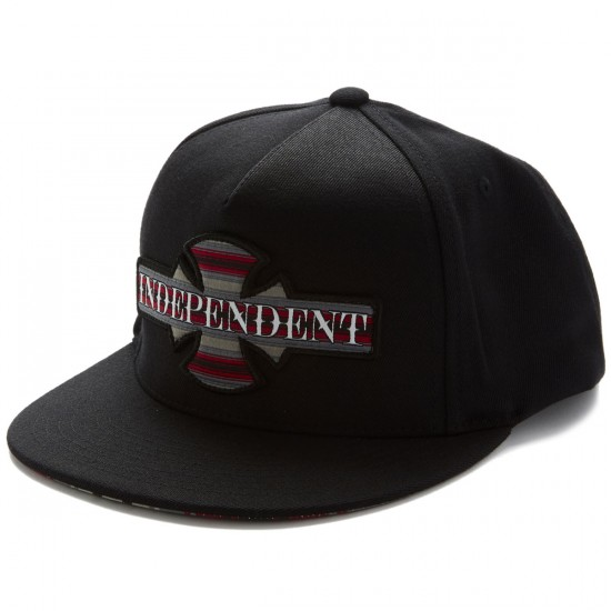 Independent Boarder Flexfit One Ten Snapback Hat - Black