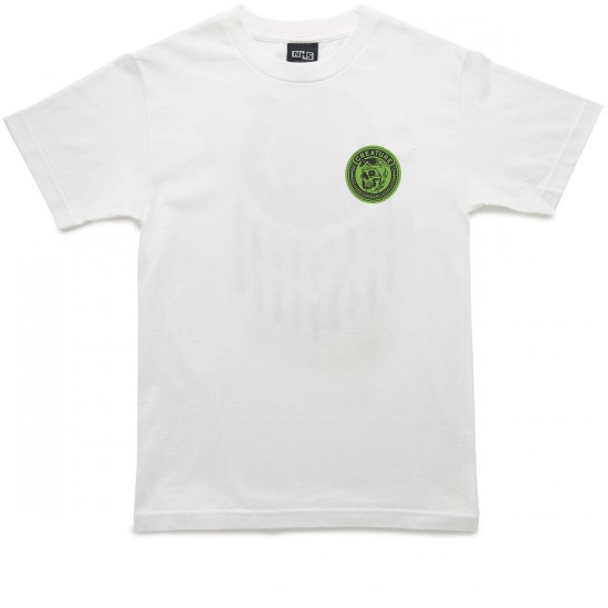 Creature Die High T-Shirt - White