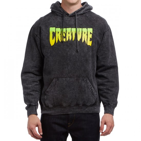Creature Logo Pullover Hoodie - Mineral Black