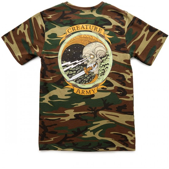 Creature Army T-Shirt - Camouflage