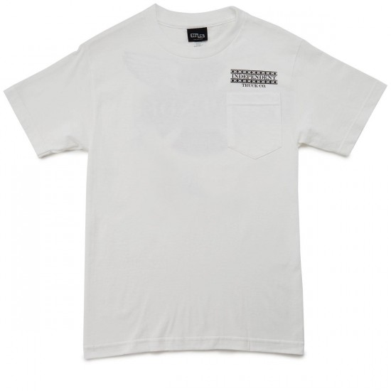 Independent Boarder Pocket T-Shirt - White