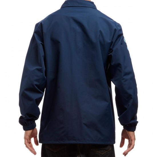 Independent Quatro Coach Windbreaker Jacket - Navy