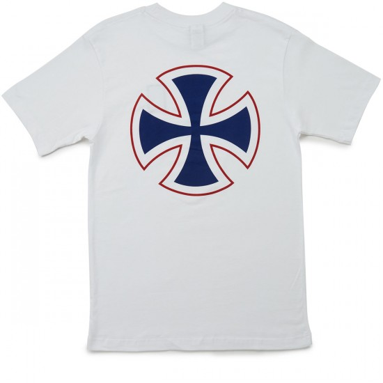 Independent Label Cross T-Shirt - White