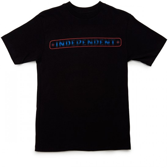 Independent Weathered B/C T-Shirt - Black