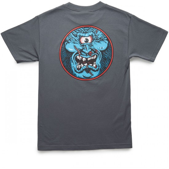 Santa Cruz Rob Cyclops T-Shirt - Charcoal
