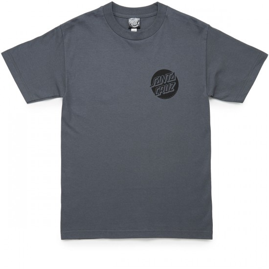 Santa Cruz Screaming Takover T-Shirt - Charcoal