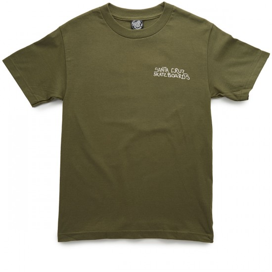 Santa Cruz J. Jessee Dollar T-Shirt - Military Green