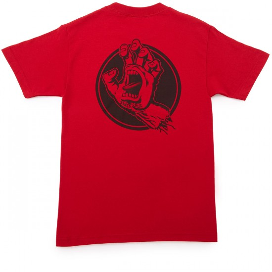Santa Cruz Handled T-Shirt - Cardinal Red