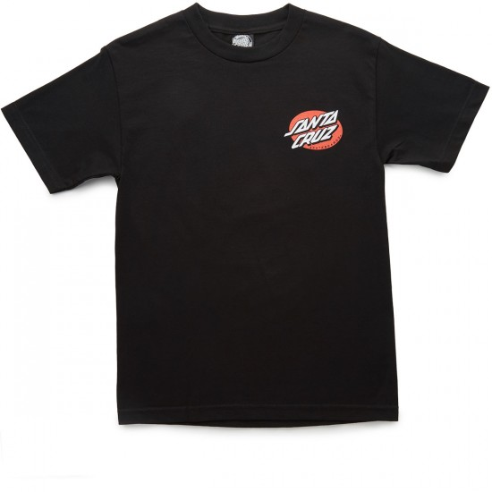 Santa Cruz Rat Slasher T-Shirt - Black