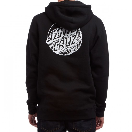 Santa Cruz Lighthouse Dot Pullover Hoodie - Black