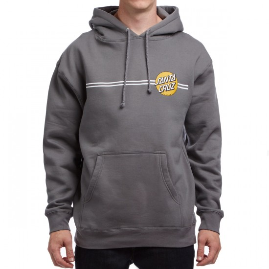 Santa Cruz Other Dot Pullover Hoodie - Charcoal/Gold