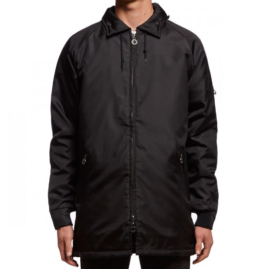 Independent Stormy All Weather Hooded Jacket - Black