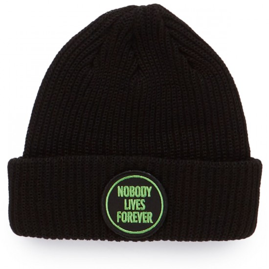 Creature Nobody Beanie - Black