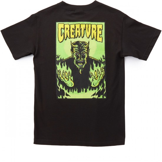 Creature Hell T-Shirt - Black