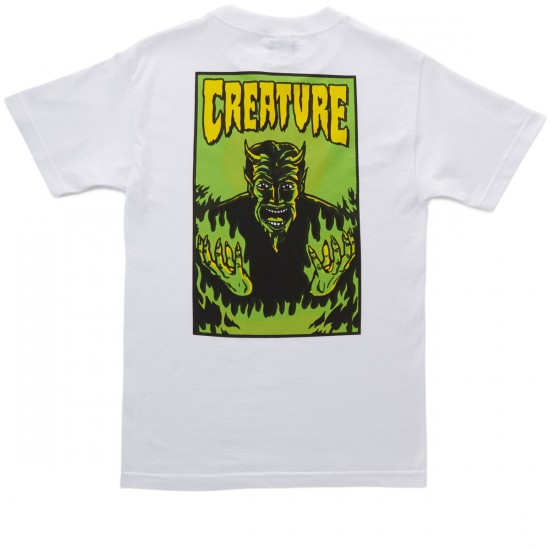 Creature Hell T-Shirt - White