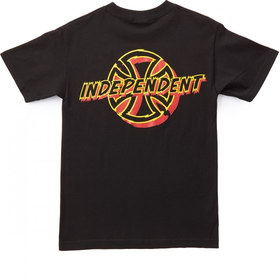 Independent Shred T-Shirt - Black