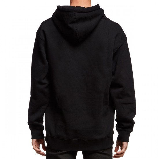 Creature Shredded Pullover Hoodie - Black