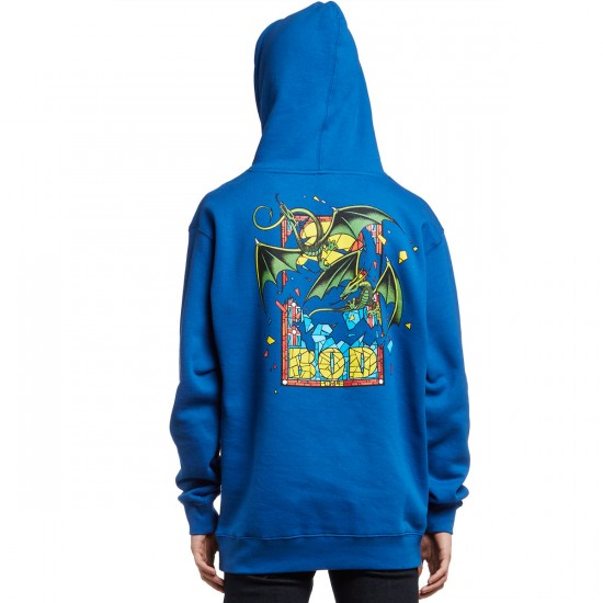 Santa Cruz Bod Boyle Stained Glass Pullover Hoodie - Royal
